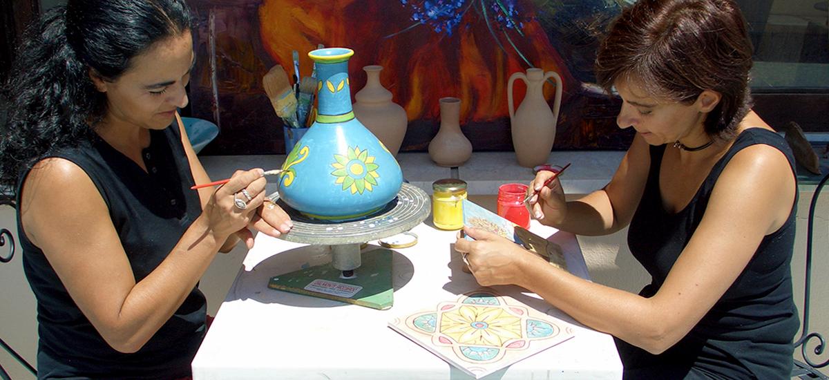Curso de italiano y cerámica siciliana