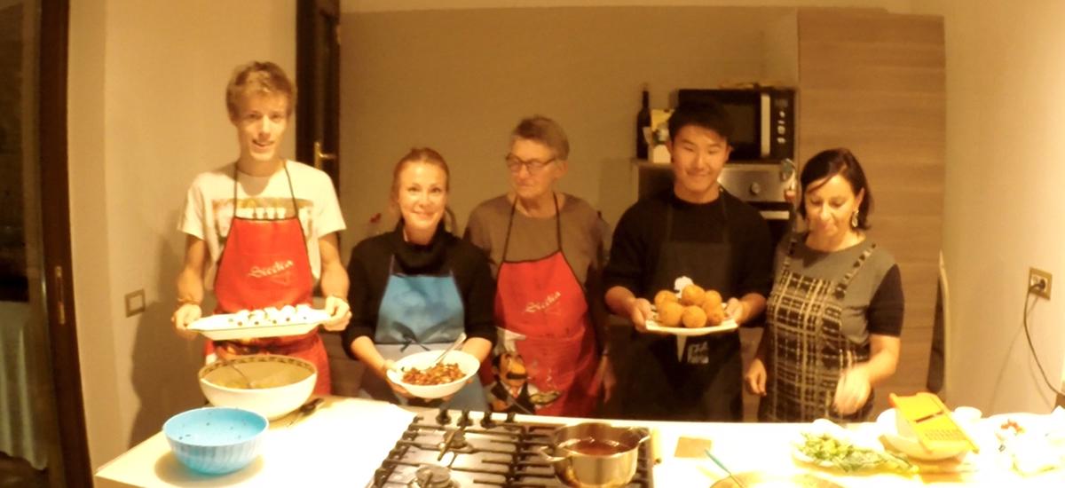 Curso de Italiano y cocina casera