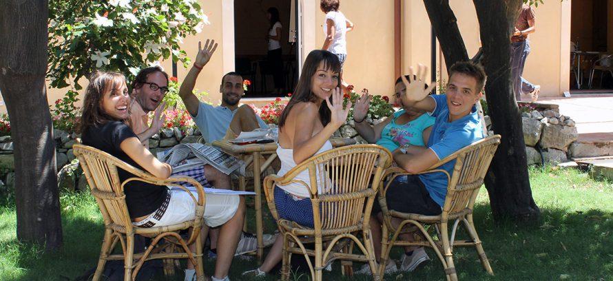 Bienvenido a Babilonia, Aprende italiano en Italia