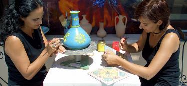 Cerámica y decoración de cerámica en Sicilia