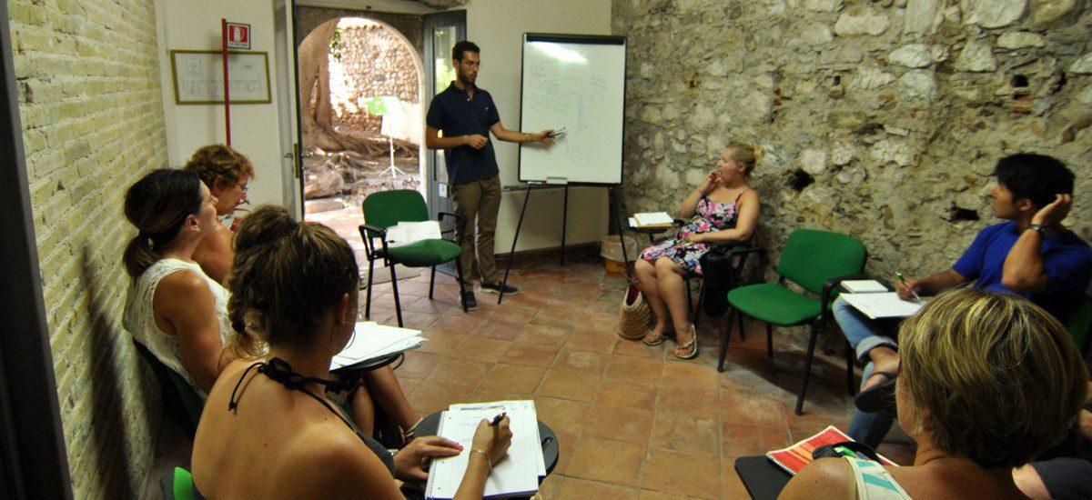 curso de italiano en grupo 3